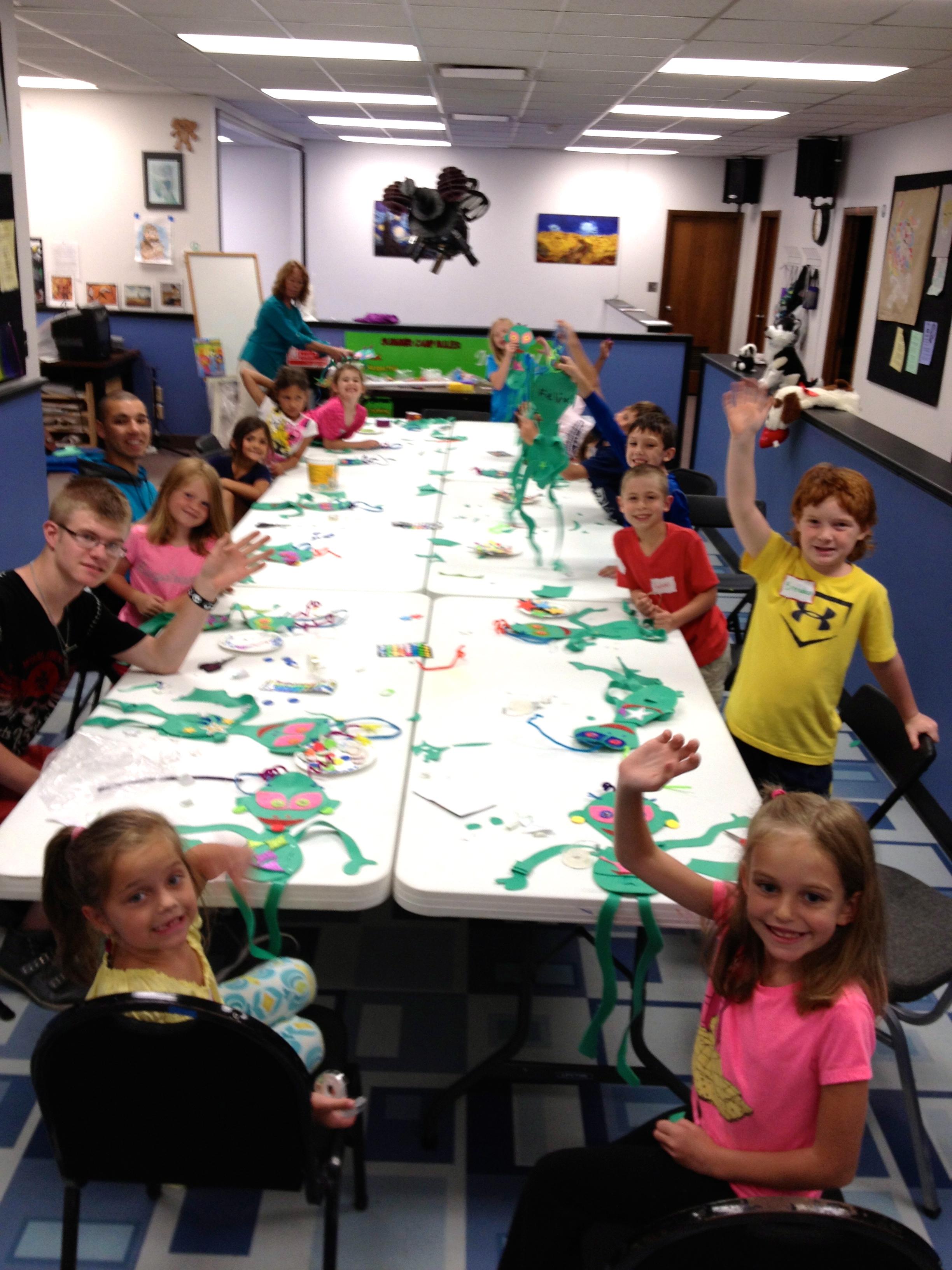 Camp Art Class