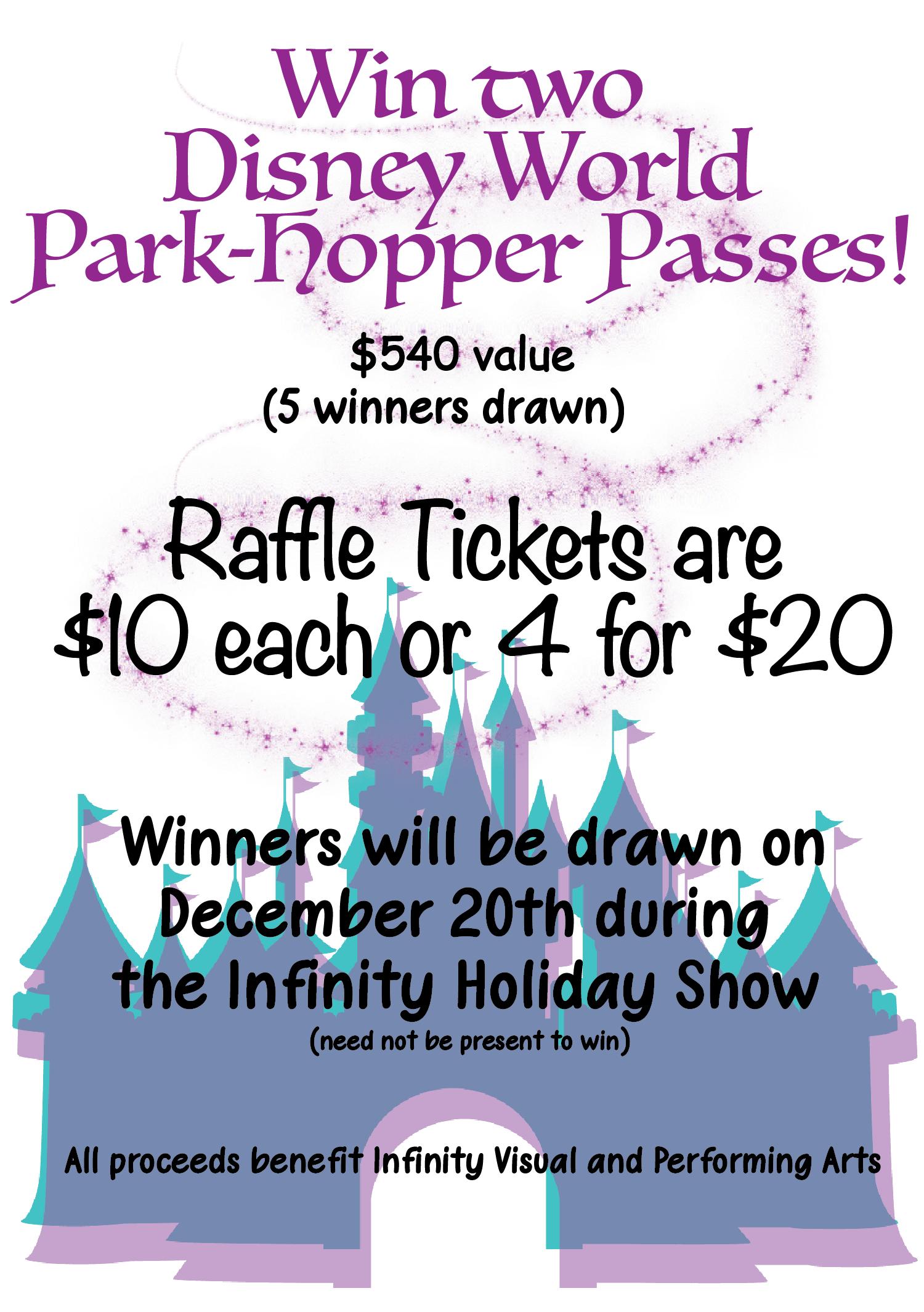 Disney Raffle Tickets